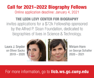 Leon Levy Center for Biography fellowship