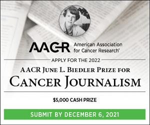 Biedler Price for Cancer Journalism
