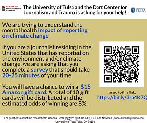 Dart Center/Tulsa survey