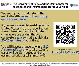 Dart Center/Tulsa survey