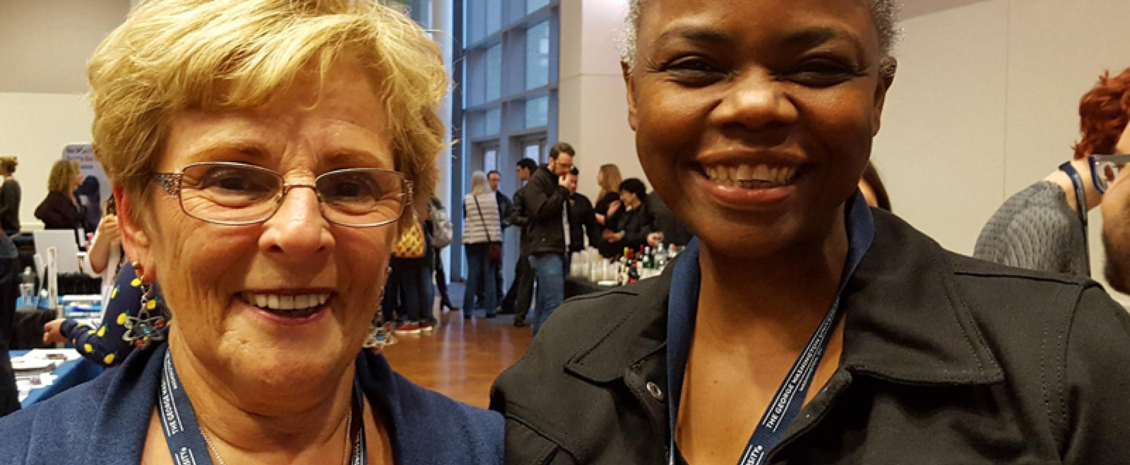 Diane McGurgan and Czerne Reid