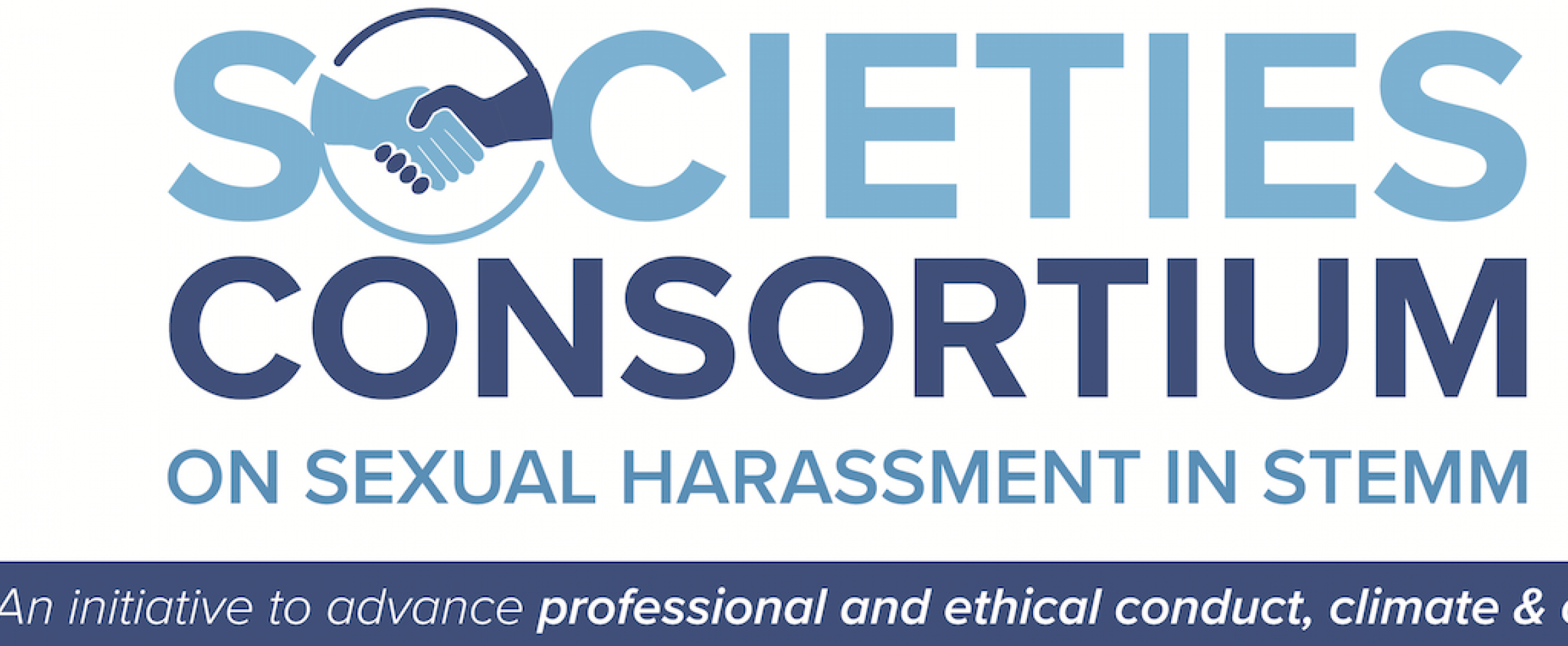 Logo of the Societies Consortium on Sexual Harassment in STEMM