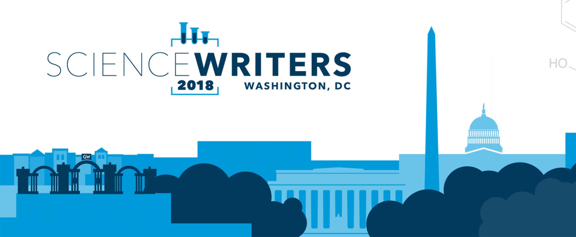 ScienceWriters 2018 logo