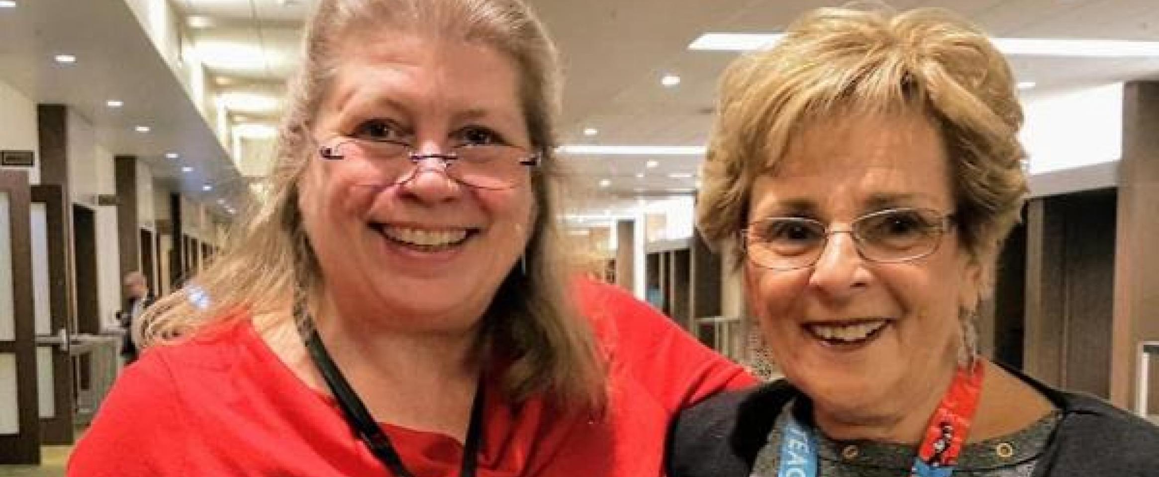 Jennifer Cox and Diane McGurgan
