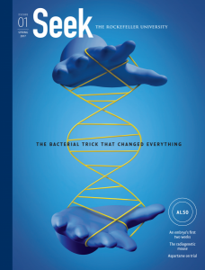 Seek magazine cover
