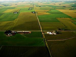 Iowa farmland