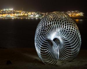 Slinky statue