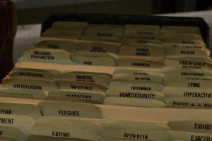 Psychiatric hospital files