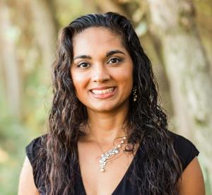 A headshot of Alka Tripathy-Lang.