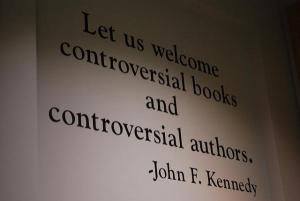 JFK quote on controversial books