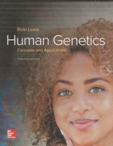 Human Genetics cover