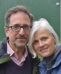 Andrew Revkin & Lisa Mechaley. Photo by Gloria Waslyn