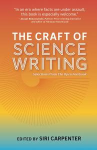 Cover: Craft of Science Writing