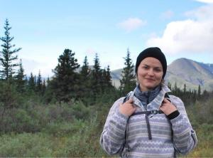Amy McDermott in Alaska