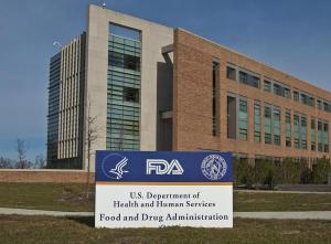 FDA sign and building