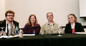 """Blogging for institutions"" panel"