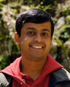 A headshot of Sandeep Ravindran