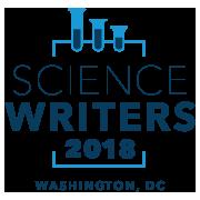 ScienceWriters2018 logo