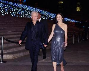 Michael Douglas and wife Catherine Zeta-Jones, 2012. Credit: David Shankbone