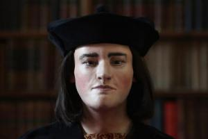 Richard III: Plastic reconstruction from the skull. Credit: University of Leicester.
