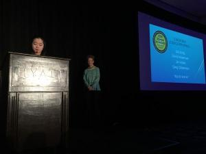 Awards reception at ScienceWriters2015