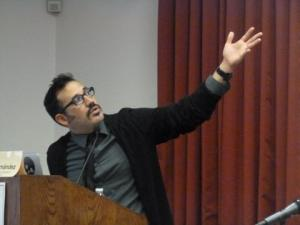 Web journalist and tech guru Robert Hernandez of USC.<br>Courtesy of Lynne Friedmann