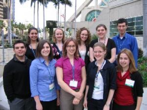 2010 NASW Travel Fellows at AAAS