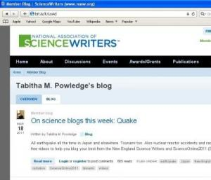 The six categories of science bloggers | ScienceWriters (www.NASW.org)