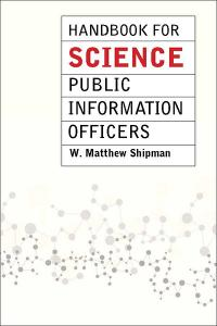 Handbook for Science Public Information Officers cover
