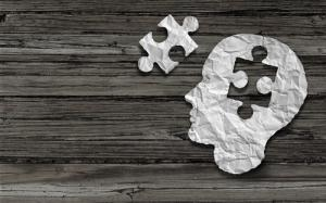 Brain with puzzle piece missing, image via Shutterstock