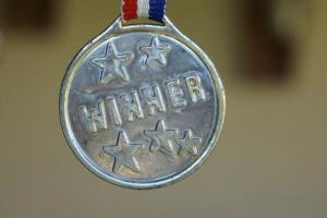 """""""Winner"""" medal"""