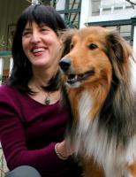 Virginia Morell with Buckaroo
