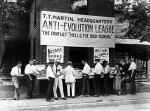 Anti-evolution league storefront