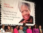 Maya Angelou stamp unveiling