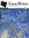 ScienceWriters Spring 2018 cover