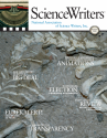ScienceWriters Summer 2016 cover