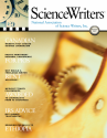 ScienceWriters Summer 2017 cover