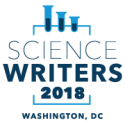 ScienceWriters2018 logo