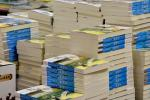 Stacks of books image via Shutterstock