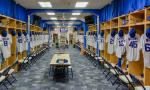 Locker room image via Shutterstock