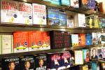 Bookstore shelves image via Shutterstock
