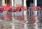 Flooded plaza image via Shutterstock