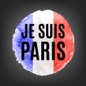 Je suis Paris image via Shutterstock