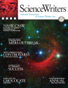 ScienceWriters Summer 2015 cover